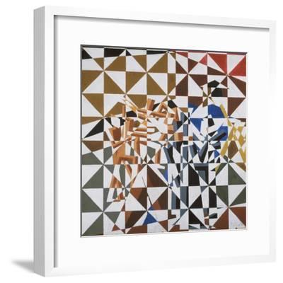 Ju-Jitsu-David Bomberg-Framed Premium Giclee Print