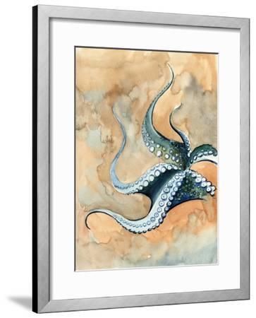 Octopus Abstract-Sophia Rodionov-Framed Art Print