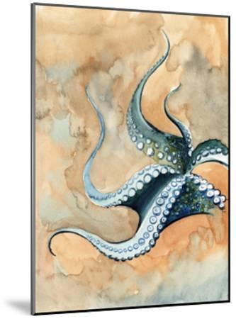 Octopus Abstract-Sophia Rodionov-Mounted Art Print