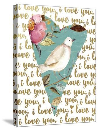I Love You-Jo Moulton-Stretched Canvas Print