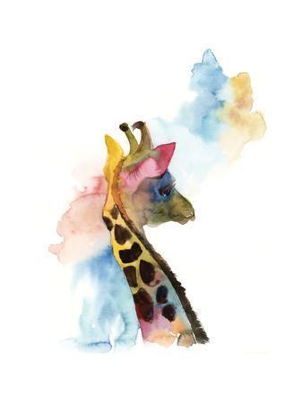 Giraffe I-Sophia Rodionov-Premium Giclee Print