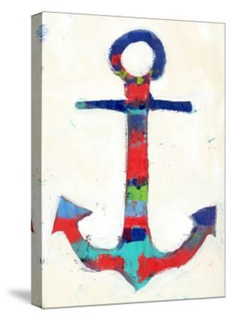 Anchor Stripe-Pamela J.-Stretched Canvas Print