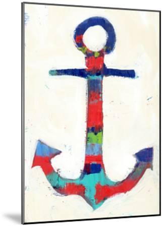 Anchor Stripe-Pamela J.-Mounted Art Print