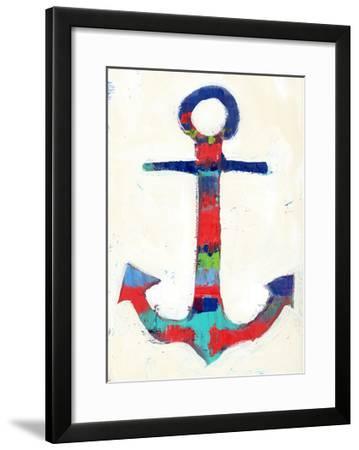 Anchor Stripe-Pamela J.-Framed Art Print