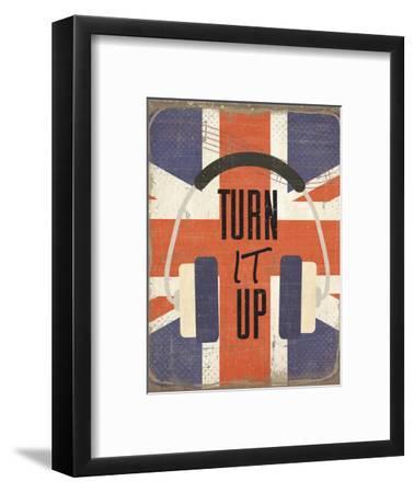 Turn It Up-ND Art-Framed Art Print