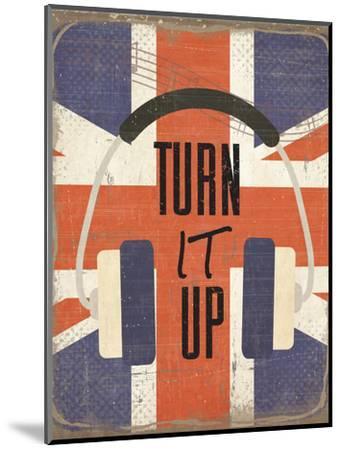 Turn It Up-ND Art-Mounted Art Print