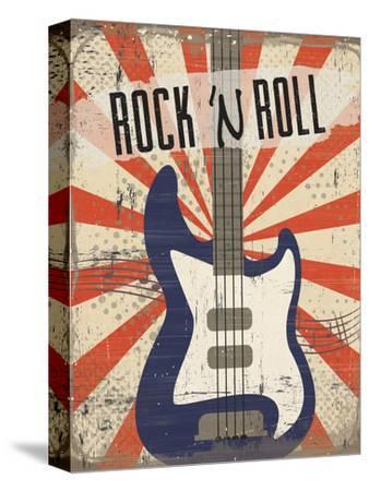 Rock 'n Roll-ND Art-Stretched Canvas Print