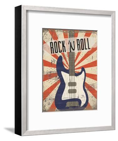Rock 'n Roll-ND Art-Framed Art Print