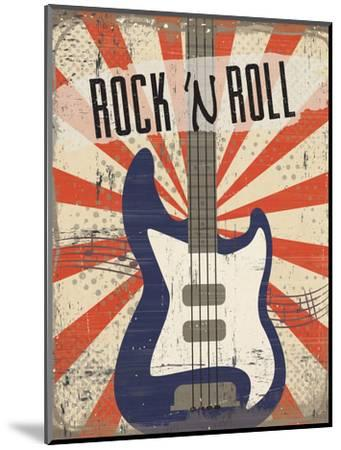 Rock 'n Roll-ND Art-Mounted Art Print
