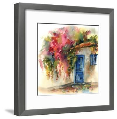 Blue Door-Sophia Rodionov-Framed Art Print