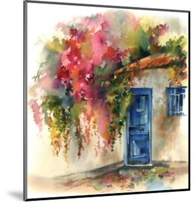 Blue Door-Sophia Rodionov-Mounted Art Print