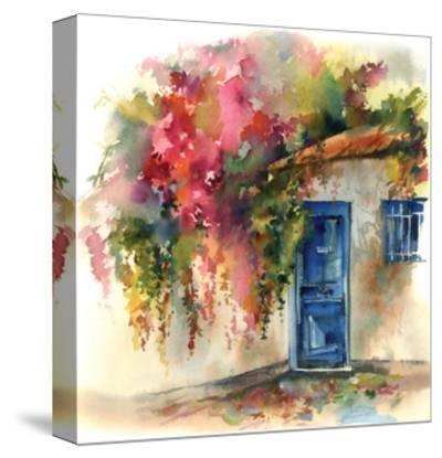 Blue Door-Sophia Rodionov-Stretched Canvas Print