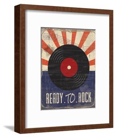 Ready to Rock-ND Art-Framed Art Print