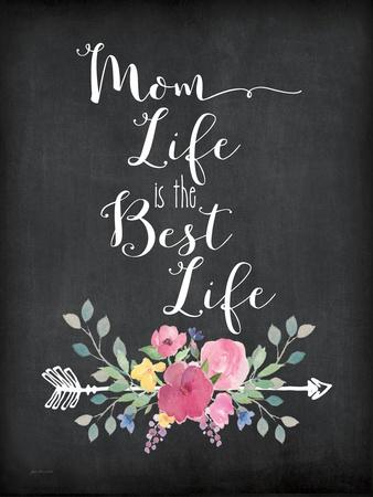 Mom Life-Jo Moulton-Stretched Canvas Print