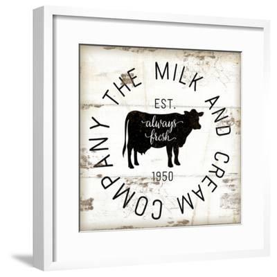 Milk and Cream Company-Jennifer Pugh-Framed Art Print