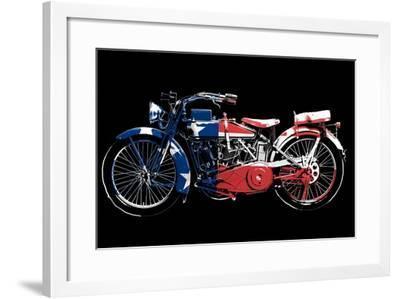 American Hog-Jim Baldwin-Framed Art Print