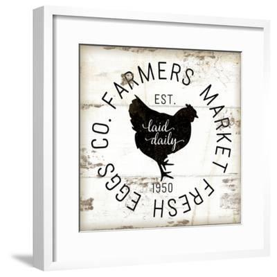 Farmer Market Eggs-Jennifer Pugh-Framed Premium Giclee Print