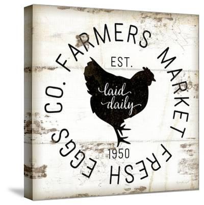 Farmer Market Eggs-Jennifer Pugh-Stretched Canvas Print