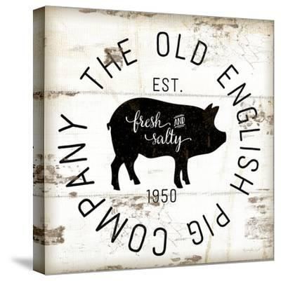 The Old Pig Company-Jennifer Pugh-Stretched Canvas Print