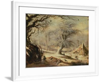 Winter Landscape-Gysbrecht Lytens or Leytens-Framed Giclee Print