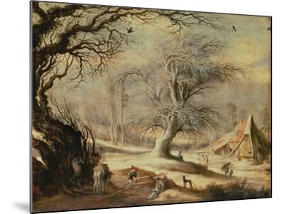 Winter Landscape-Gysbrecht Lytens or Leytens-Mounted Giclee Print