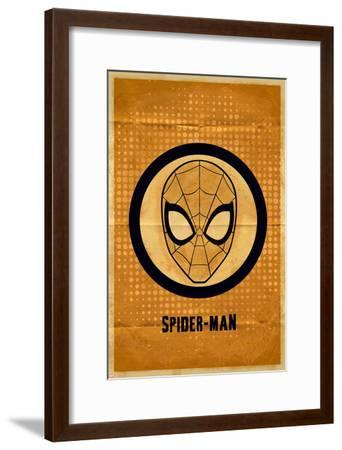 Spider-Man Graphic--Framed Art Print