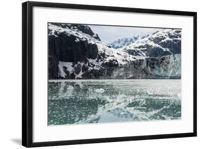 Margerie Glacier, Tarr Inlet, Glacier Bay National Park, Alaska-Jonathan Kingston-Framed Photographic Print