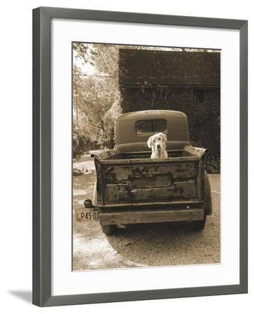 Get Out of Dodge-Jim Dratfield-Framed Art Print