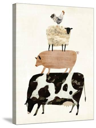 Barnyard Buds III-Victoria Borges-Stretched Canvas Print