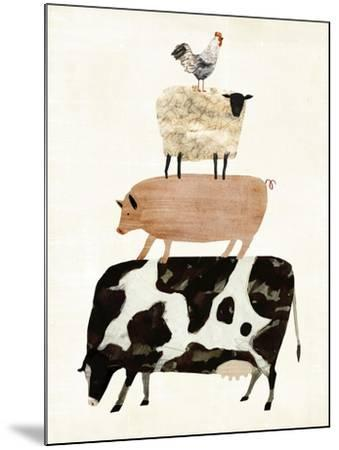 Barnyard Buds III-Victoria Borges-Mounted Art Print