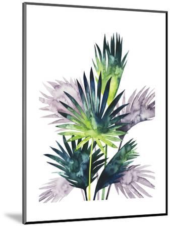 Twilight Palms III-Grace Popp-Mounted Art Print