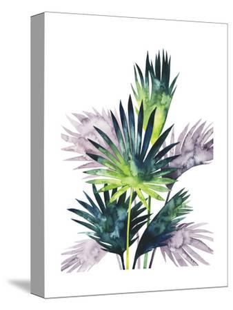 Twilight Palms III-Grace Popp-Stretched Canvas Print