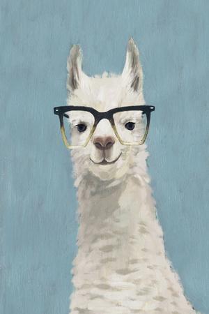Llama Specs II-Victoria Borges-Framed Premium Giclee Print