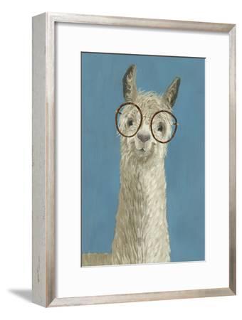 Llama Specs III-Victoria Borges-Framed Premium Giclee Print