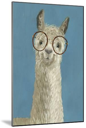 Llama Specs III-Victoria Borges-Mounted Premium Giclee Print
