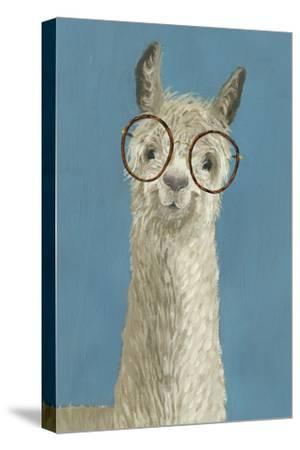 Llama Specs III-Victoria Borges-Stretched Canvas Print