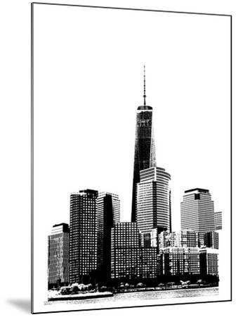 NYC in Pure B&W XIX-Jeff Pica-Mounted Art Print