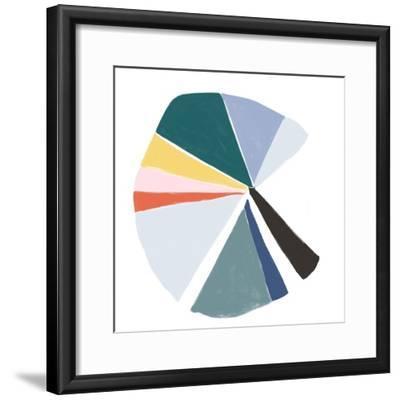 Color Wheel V-June Erica Vess-Framed Art Print