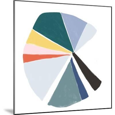 Color Wheel V-June Erica Vess-Mounted Art Print