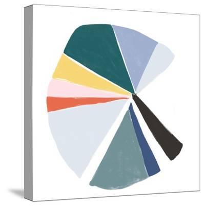 Color Wheel V-June Erica Vess-Stretched Canvas Print