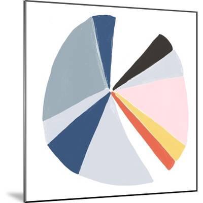 Color Wheel II-June Erica Vess-Mounted Art Print