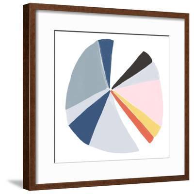 Color Wheel II-June Erica Vess-Framed Art Print