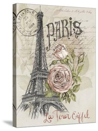Paris Sketchbook I-Jennifer Paxton Parker-Stretched Canvas Print