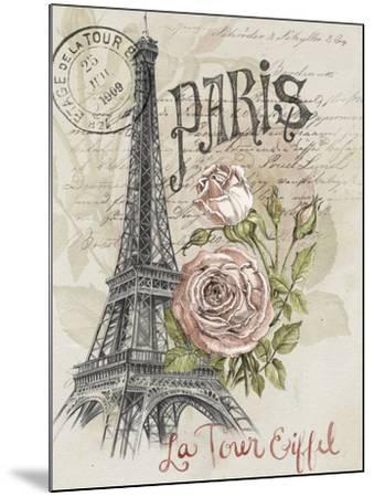Paris Sketchbook I-Jennifer Paxton Parker-Mounted Art Print