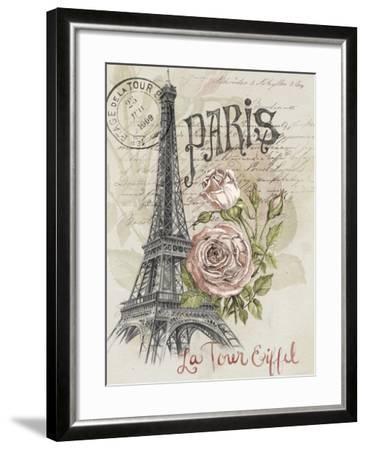 Paris Sketchbook I-Jennifer Paxton Parker-Framed Art Print