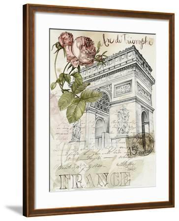 Paris Sketchbook II-Jennifer Paxton Parker-Framed Art Print