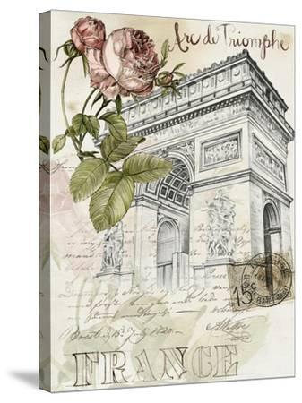 Paris Sketchbook II-Jennifer Paxton Parker-Stretched Canvas Print