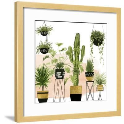 Indoor Oasis I-Grace Popp-Framed Art Print