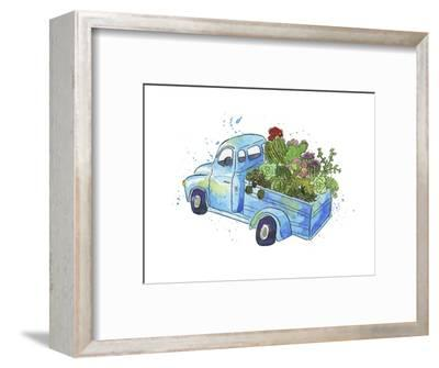 Flower Truck I-Catherine McGuire-Framed Art Print
