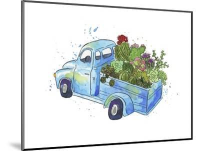 Flower Truck I-Catherine McGuire-Mounted Art Print